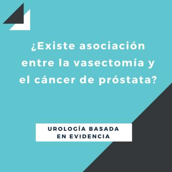 644001S¿Existe asociación entre la vasectomía y el cáncer de próstata_