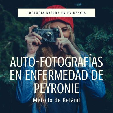 Auto-fotografías en Enfermedad de Peyronie
