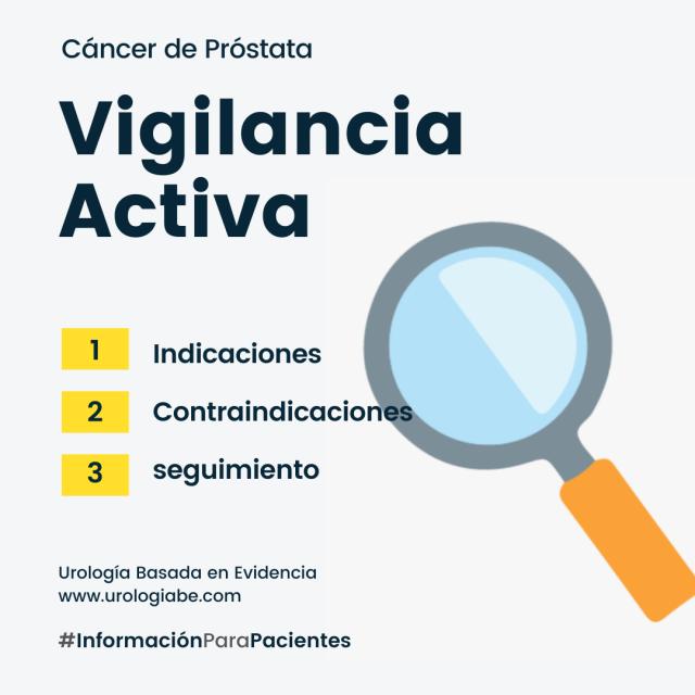 cancer prostata vigilancia activa